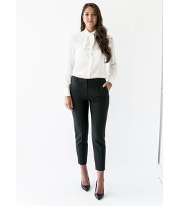 JUDITH & CHARLES LEOPOLD BLOUSE - 6516 - OFF WHITE