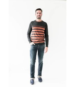 SCOTCH AND SODA STRIPE CREWNECK - 571 - MULTI