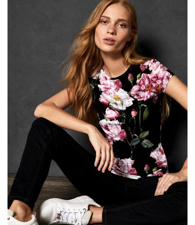 TED BAKER DALEYZA TSHIRT - 326 - FLORAL