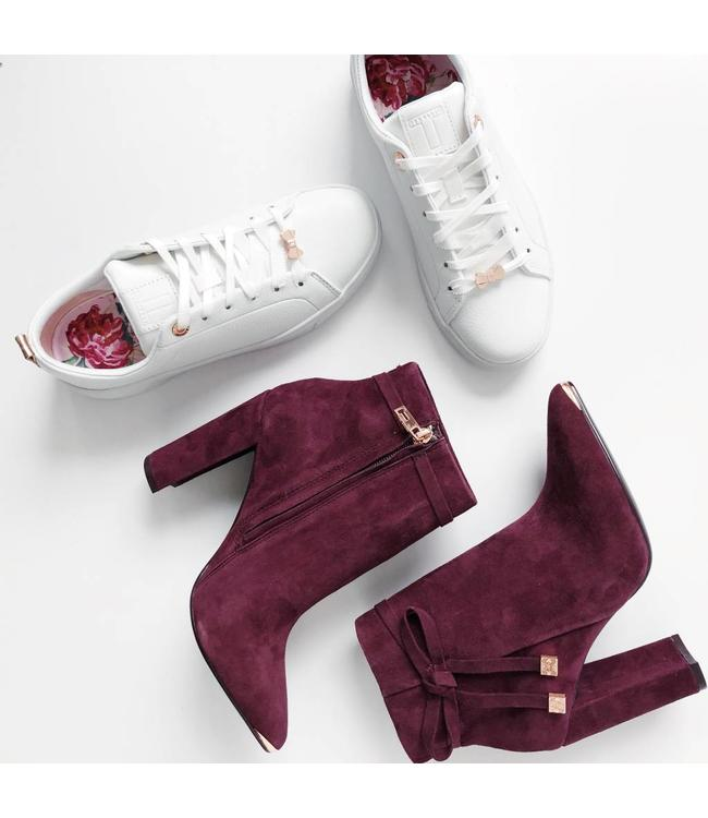 TED BAKER QATENA BOOTIES - 772 - BURGUNDY