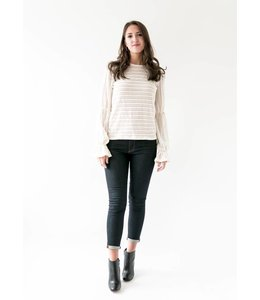 MICHAEL KORS KNIT TOP - 9NR - IVORY