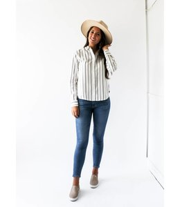 GENTLE FAWN SERENA SHIRT - 2362 - STRIPES