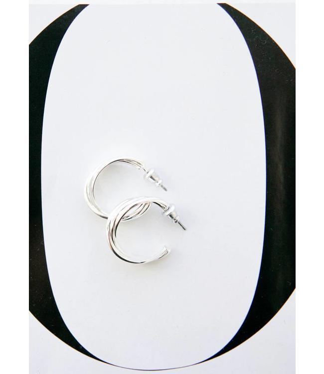 PILGRIM JENIFER EARRINGS - 6003 - SILVER