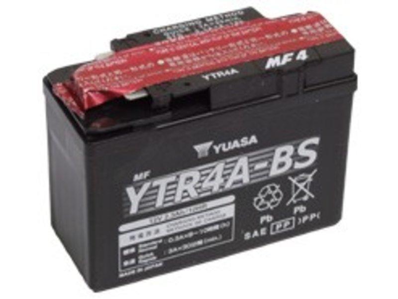 Yuasa Motor Battery Yuasa YTR4A-BS