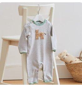 ALBETTA Crochet Cheetah Babygrow