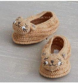 ALBETTA Crochet Cheetah Booties