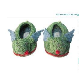 ALBETTA Crochet Dragon Booties