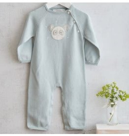 ALBETTA Panda Knit Babygrow - Cashmere Blend