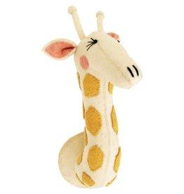 FIONA WALKER OF LONDON Large Girl Giraffe Head with Eyelashes