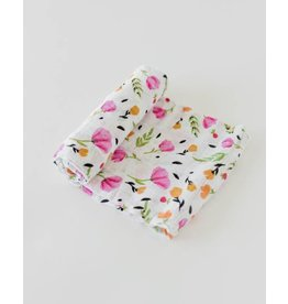 LITTLE UNICORN Cotton Muslin Swaddle - Berry & Bloom