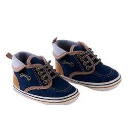 BABY Boy's denim/khaki shoes