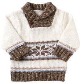 BABY SNOWFLAKE SWEATER