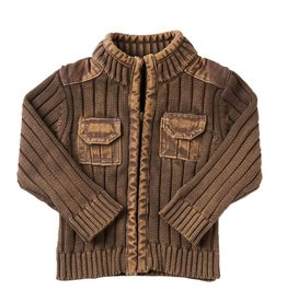 BABY Vintage Zipper Sweater