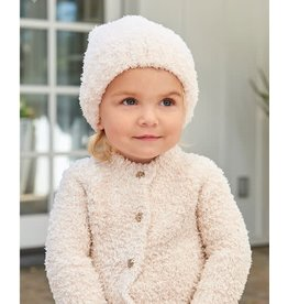 BAREFOOT DREAMS CozyChic Infant Heathered Pink Cardigan