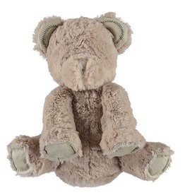 "BAREFOOT DREAMS Cuddle Buddie Bear 9"" Stone"