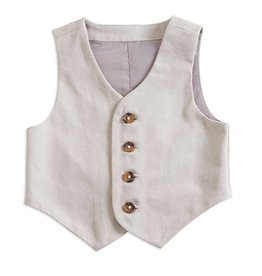 BABY Brushed Twill Vest