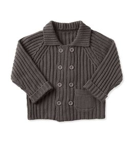 BABY Double-Breasted Cardigan 0-6M