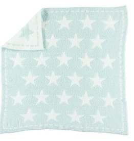 BAREFOOT DREAMS CozyChic Dream Receiving Blanket - AQUA