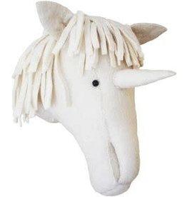 FIONA WALKER OF LONDON Large Cream Unicorn Head