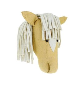 FIONA WALKER OF LONDON Large Palomino Horse Head