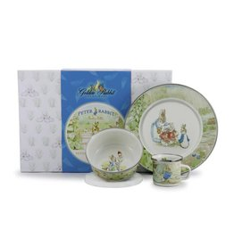 GOLDEN RABBIT Gift Set - Peter Rabbit  sc 1 st  Gifts Clothing Furniture and Decor for Children in Davenport Iowa ... : peter rabbit baby plate set - Pezcame.Com