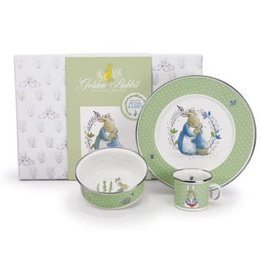 GOLDEN RABBIT Gift Set - Polka Dot Peter Rabbit