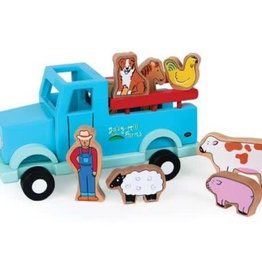 JACK RABBIT CREATIONS Down on the Farm:  Magnetic Truck