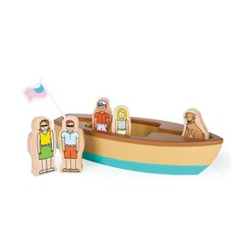 JACK RABBIT CREATIONS Lake Life:  Magnetic Boat