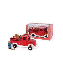 JACK RABBIT CREATIONS To the Rescue:  Magnetic Fire Truck