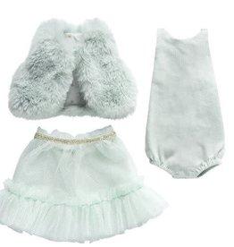 MAILEG Best Friends Ballerina Dress - Mint