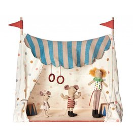 MAILEG Circus Tent with 3 Circus Mice