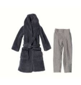 MAILEG Ginger Dad Size 1 PJ Pants and Bathrobe