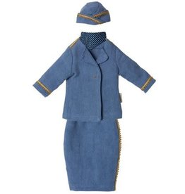 MAILEG Ginger Mum Size 1 Stewardress Suit