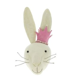 FIONA WALKER OF LONDON Rabbit with Pink Crown