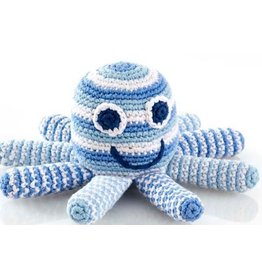 PEBBLE CHILD Octopus Rattle