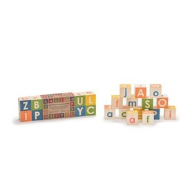 UNCLE GOOSE Upper & Lowercase ABC 14 Block Set