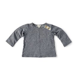 HAZEL VILLAGE Stormy Grey Shirt with Buttons