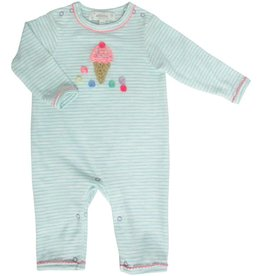 ALBETTA Crochet Ice Cream Babygro