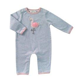 ALBETTA Crochet Flamingo Babygro