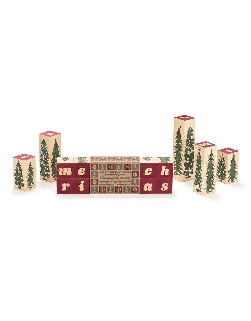 uncle goose merry christmas blocks - Merry Christmas Decorative Blocks