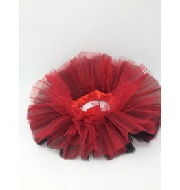 BABY Tutu - Red and Black