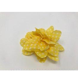 BABY Yellow Chiffon Flower Hair Bow