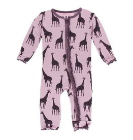 f6fed2a46 Muffin Ruffle Footie - Natural Elephant - Bel Bambino by Elements of ...