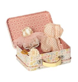 MAILEG Micro Suitcase Play Set, Diva Ballarina