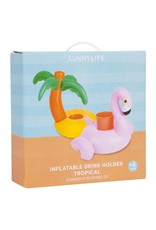 Inflatable Drink Holder - Tropical