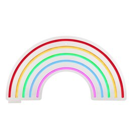 Small Rainbow Neon LED Wall Light
