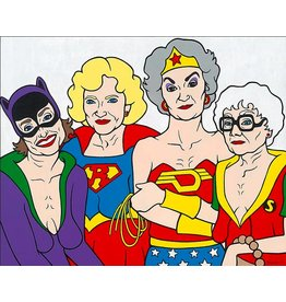 Golden Girls Art (11x14 Image)