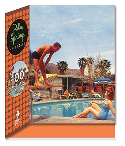 gibb smith Palm Springs Holiday Postcard Set