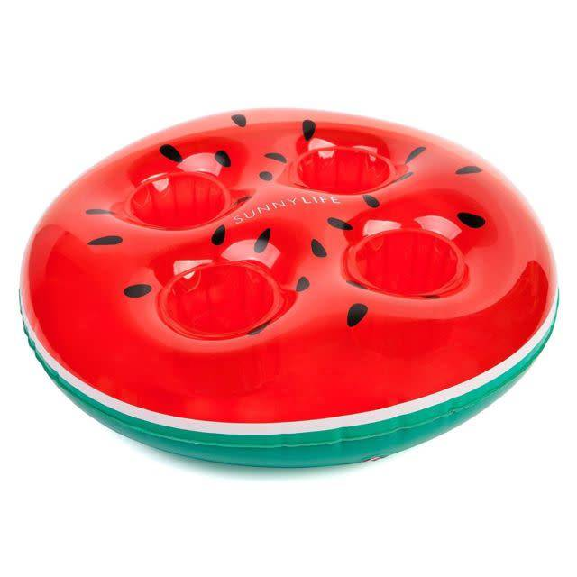 Inflatable Drink Holder - Watermelon