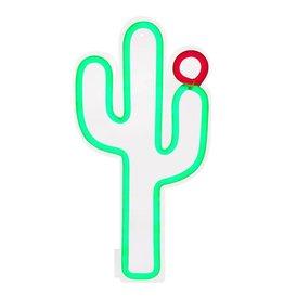 Small Cactus Neon LED Wall Light